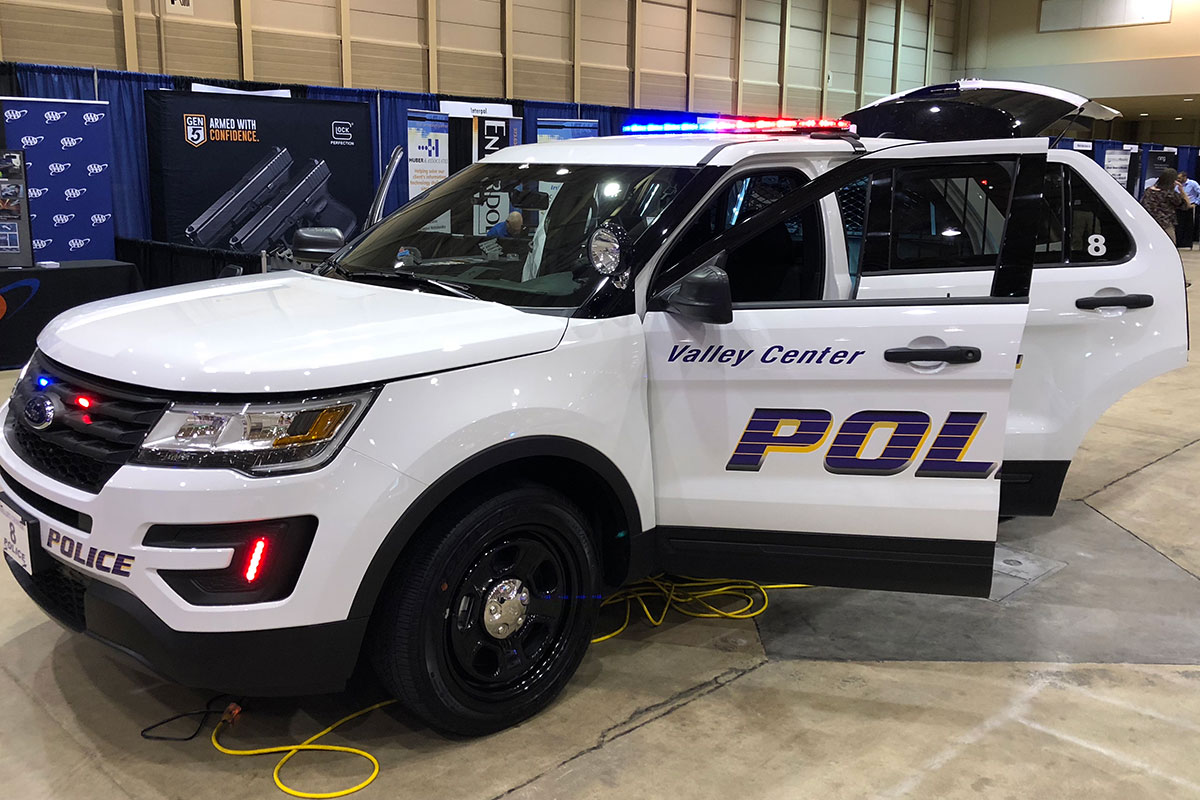 Upfitted Police Car
