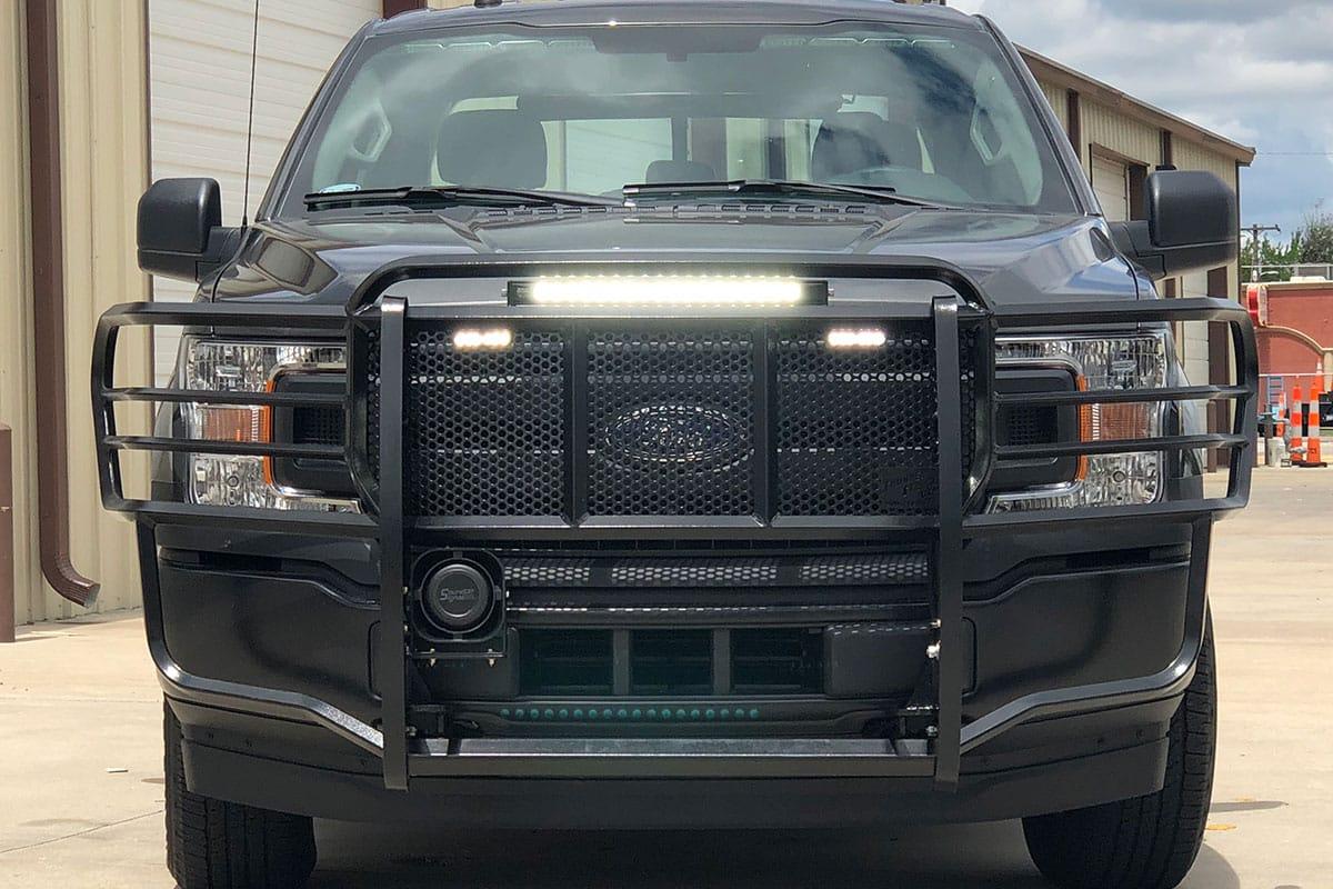 Black Emergency Truck