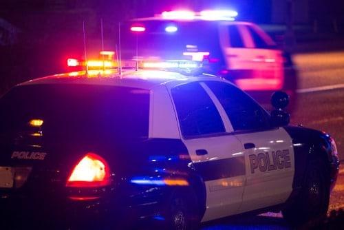 police-car-with-light-bar