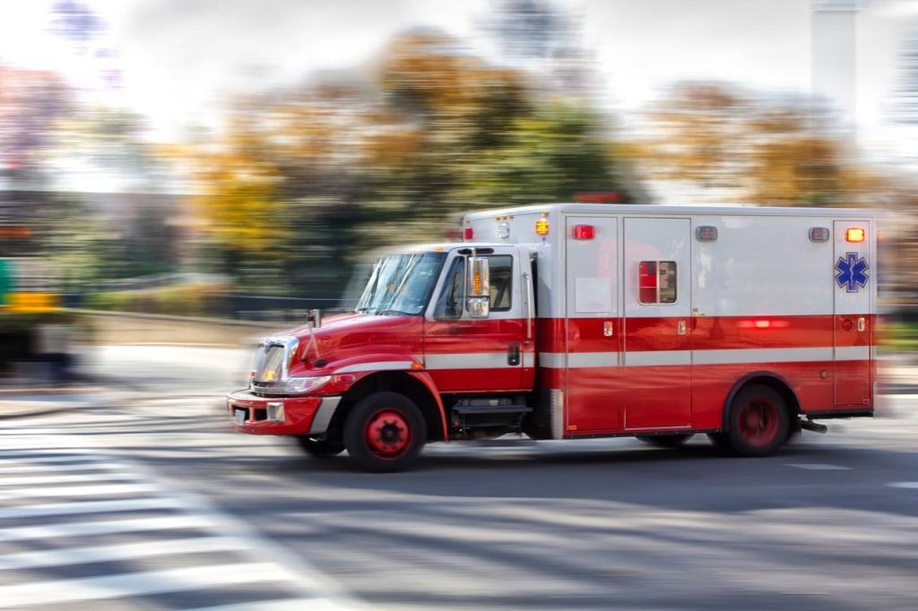 ambulance-driving-past
